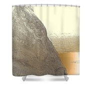 You May Feel Lonely, But You Are Not Alone  Shower Curtain
