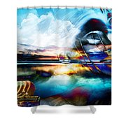 You Are The Buddha Shower Curtain
