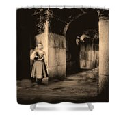 You Ask The Question Maybe I Will Give The Answer Shower Curtain