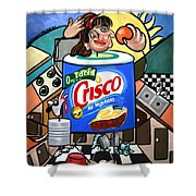 You Can't Pick Your Own Can Shower Curtain by Anthony Falbo