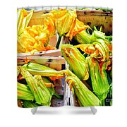 You Eat These? Shower Curtain