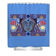 You Have The Power Shower Curtain by Helena Tiainen