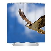You Lift Me Up Shower Curtain