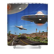 You Never Know . . . 5 Shower Curtain