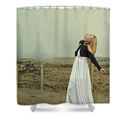 You Raise Me Up Shower Curtain
