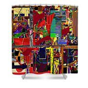 You Saw No Picture 12 Shower Curtain by David Baruch Wolk