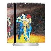 You Shine  Diptych Shower Curtain