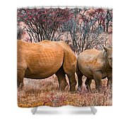 You Watch My Back And I Will Do The Same For You Shower Curtain