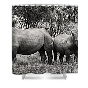 You Watch My Back And I Will Do The Same For You V2 Shower Curtain