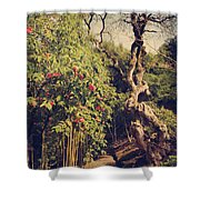 You'll Never Be Alone Shower Curtain by Laurie Search