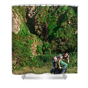 Young Adults   Shower Curtain