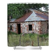 Young Arizona Where Everything Is Old Shower Curtain