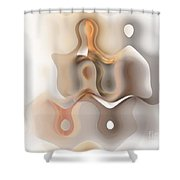Young Couple - Marucii Shower Curtain