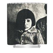 Young Girl Original Shower Curtain