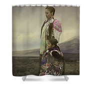 Young Girls Shower Curtain