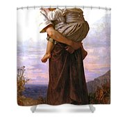 Young Gypsies Shower Curtain