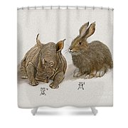 Young Heirs Shower Curtain