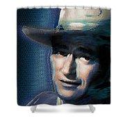 Young John Wayne Pop 2 Shower Curtain