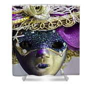 Young Lady Shower Curtain