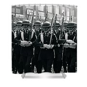 Santiago Chile 1988 Shower Curtain