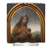 Young Mother Of Urbino Shower Curtain