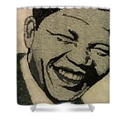 Young Nelson Mandela Shower Curtain