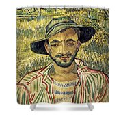 Young Peasant Shower Curtain
