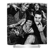 Young Wanderers  Shower Curtain