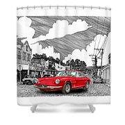 Your Ferrari In Tularosa N M  Shower Curtain