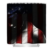 Your Nation Your First Love Shower Curtain
