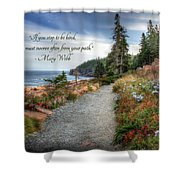 Your Path Shower Curtain
