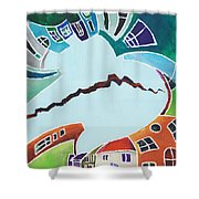 Your Reality Or Mine. Realities Vis-a-vis Or When A Rupture Matters Shower Curtain