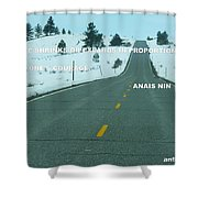Your Road Shower Curtain