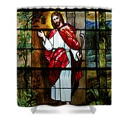 Your Shepherd Is Knocking Shower Curtain