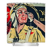Your Thirst Takes Wings Shower Curtain