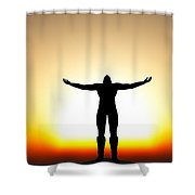 Your Will Be Done... Shower Curtain