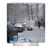 Youth Passing Old Age Shower Curtain