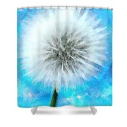 Youthful Wish Shower Curtain