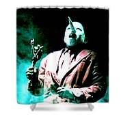 You've Been Gone Damn Near Two Years Shower Curtain by Ludzska