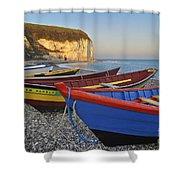 Yport 2 Shower Curtain