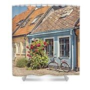 Ystad Cottages Shower Curtain
