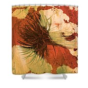 Yucca Abstract Warm Shower Curtain