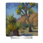 Yucca And Joshua Shower Curtain
