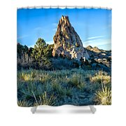 Yucca Uprising Shower Curtain