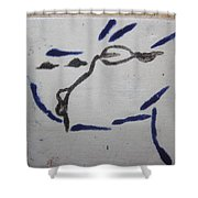 Yuko - Tile Shower Curtain