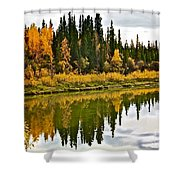 Yukon Autumn Shower Curtain