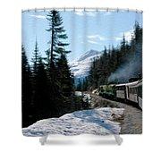 Yukon Railroad Shower Curtain