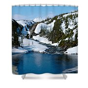 Yukon View Shower Curtain