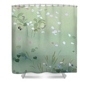 Yumezakura Crop Shower Curtain