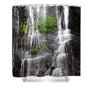 Yungas Waterfall Detail Shower Curtain